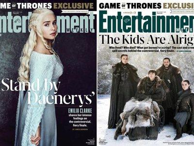 Με διπλό εξώφυλλο το φινάλε του Game of Thrones κυκλοφορεί το Εntertainment Weekly