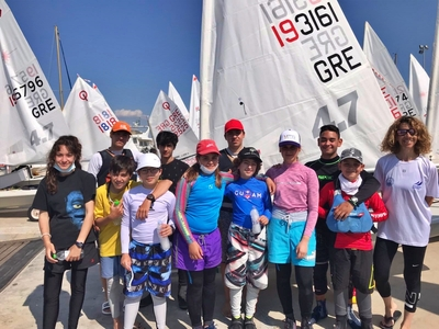 Δώδεκα αθλητές του Ιστιοπλοϊκού Ομίλου Π...