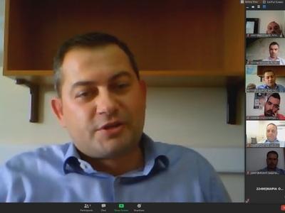 Τηλεδιάσκεψη-ενημέρωση των δημοσιογράφων της ΠΔΕ για την επανεκκίνηση της αγροτικής οικονομίας