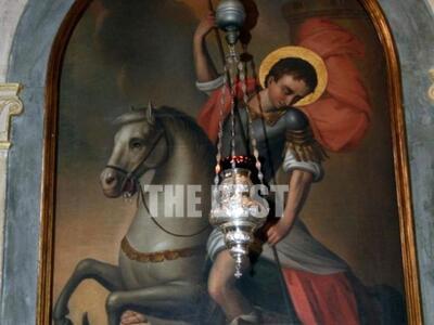 Εικόνα του Αγίου Γεωργίου από τον Μητροπ...