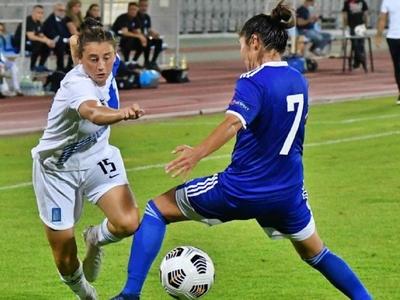 Πρώτη νίκη της Εθνικής γυναικών στο Παμπ...