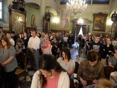 Παράκληση για τους υποψηφίους των πανελλαδικών στον Άγιο Ανδρέα της Πάτρας