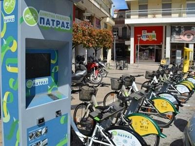 80 κοινόχρηστα ποδήλατα της Πάτρας, ξανά...