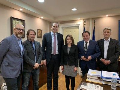 Συνάντηση με τον Υφυπουργό Οικονομικών Απόστολο Βεσυρόπουλο είχαν οι Πατρινοί καταστηματάρχες εστίασης
