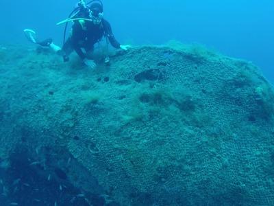 """Στο ναυάγιο του θρυλικού υποβρυχίου """"Περσέας"""", έξω από την Κεφαλονιά"""