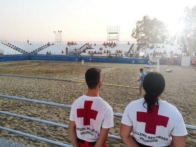 Σημαντική η συμβολή του Ελληνικού Ερυθρού Σταυρού στο Test Event