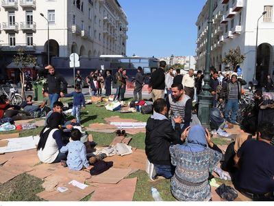 Θεσσαλονίκη: Τον μαχαίρωσε στην πλατεία Αριστοτέλους!