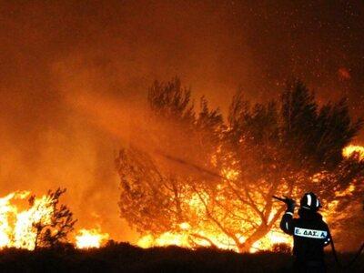 Πάτρα: Υπό έλεγχο η πυρκαγιά στο Μιντιλόγλι