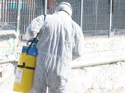 Θεσσαλονίκη: Προληπτική απολύμανση σε κα...