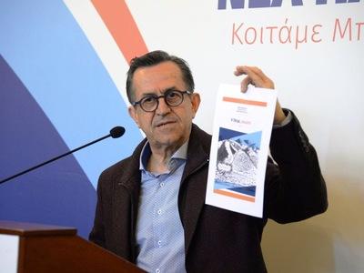 Ν. Νικολόπουλος: «Σε βιβλίο το πρόγραμμά μας για να μας ελέγχετε καθημερινά»!