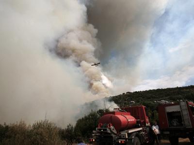 Πολύ υψηλός κίνδυνος πυρκαγιάς στη Δυτικ...