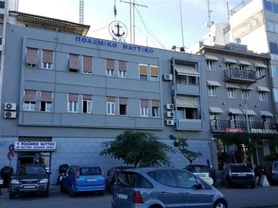 Η πλευρά του κτιρίου από την οδό Οθωνος-Αμαλίας εκεί όπου σήμερα βρίσκεται η Ναυτική Διοίκηση Ιονίου