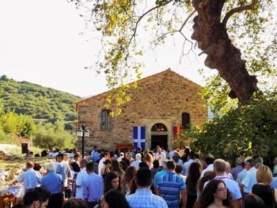 Ο Εορτασμός της Παναγίας στο αρχαιότερο βυζαντινό μνημείο της Ηλείας- ΔΕΙΤΕ ΦΩΤΟ