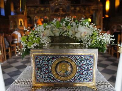 Πανηγυρίζει ο ναός του Αγίου Νεκταρίου στην Πάτρα