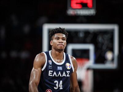 Η FIBA προτείνει Γιάννη για σημαιοφόρο τ...