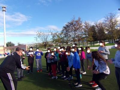 Με το χάντμπολ συνεχίστηκε η γνωριμία των μαθητών της Πάτρας με τον αθλητισμό