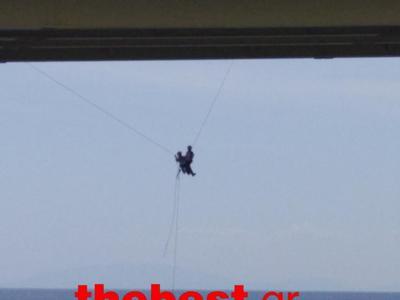 Κάνουν δουλειά στη Γέφυρα Ρίου - Αντιρρίου που σου κόβει την ανάσα  (ΔΕΙΤΕ ΦΩΤΟ)
