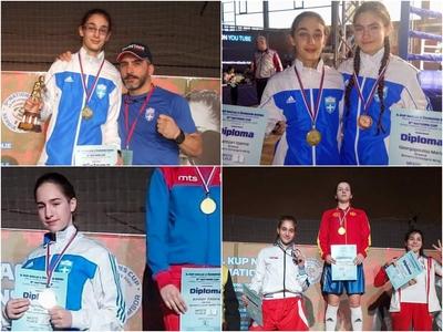 Τέσσερα μετάλλια για τους Boxerinos με τ...