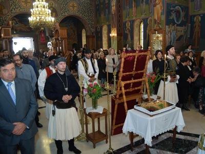 Επιμνημόσυνη δέηση στην Πάτρα για τον Κωνσταντίνο Παλαιολόγο - ΦΩΤΟ