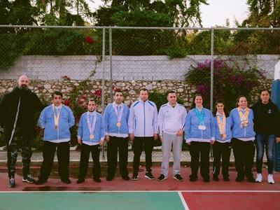 Τους Πατρινούς Special Olympics υποδέχθηκε η Παναχαϊκή - ΦΩΤΟ