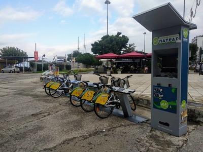 Επέστρεψαν τα κοινόχρηστα ποδήλατα του Δήμου Πατρέων, στην Αγ. Νικολάου - ΦΩΤΟ