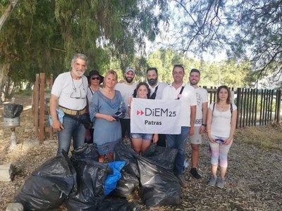 Δράση για το περιβάλλον με το ΜέΡΑ25 Αχαΐας