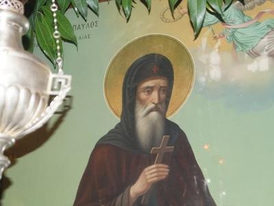 Τιμάται την Κυριακή στην Ευαγγελίστρια ο Άγιος Παύλος ο Πατρεύς