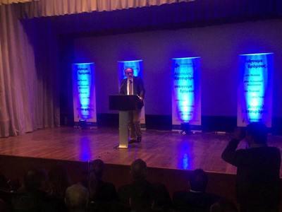 Κατάμεστο το Λαζαράκειο στην Αμαλιάδα στην ομιλία του Απόστολου Κατσιφάρα