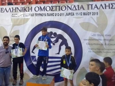 Πρωταθλητής στους Προπαμπαίδες ο Κωνσταντίνος Παναγιωτόπουλος