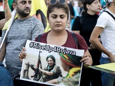 Πάτρα: Συγκέντρωση κατά της εισβολής της Τουρκίας στη Συρία