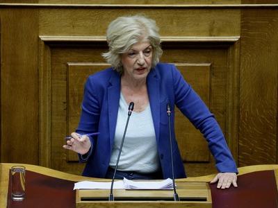 Η ομιλία της Σίας Αναγνωστοπούλου στη Βουλή