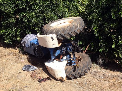 Τραγωδία! Νεκρός ο 53χρονος  Αντώνης Σγούρας - Καταπλακώθηκε από το τρακτέρ του στο Τζάιλο Αχαΐας