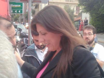 Με πολιτικούς της φίλους συναντήθηκε στην Πάτρα η Ζωή Κωνσταντοπούλου - ΔΕΙΤΕ ΦΩΤΟΓΡΑΦΙΕΣ