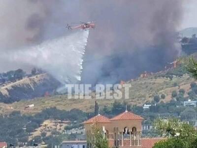 Πάτρα: Οριοθετήθηκε η φωτιά στον Προφήτη...