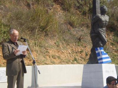 Πάτρα: Τιμήθηκε η μνήμη των εκτελεσθέντων αγωνιστών στο Γηροκομειό - Δείτε φωτό