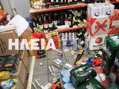 Κυλλήνη: Η στιγμή του σεισμού σε σούπερ μάρκετ – ΔΕΙΤΕ ΒΙΝΤΕΟ