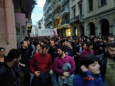 Φοιτητικοί Σύλλογοι Πάτρας: Παρά την κινδυνολογία τα επεισόδια ήταν εξαιρετικά περιορισμένα