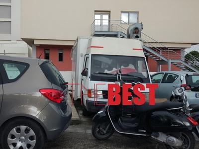 """Το πάρκινγκ στο νοσοκομείο """"Άγιος Ανδρέας"""" της Πάτρας"""
