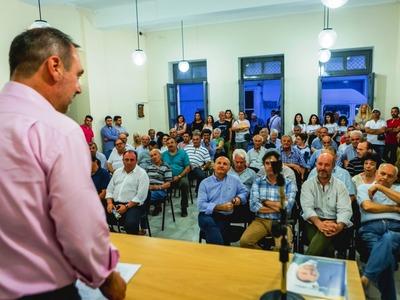 Ανδρέας Κατσανιώτης: Ξεκίνημα από τη Δυτική Αχαΐα