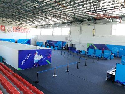Δείτε πως έγινε το κλειστό γυμναστήριο στο Κουκούλι
