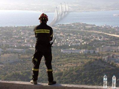 Απαγόρευση κυκλοφορίας λόγω κινδύνου πυρκαγιάς στην Πάτρα