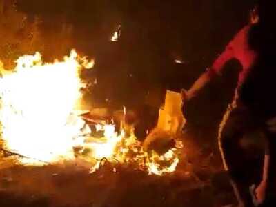 ΕΤΣΙ έβαλαν τη φωτιά στη Μόρια- ΒΙΝΤΕΟ ΝΤΟΚΟΥΜΕΝΤΟ