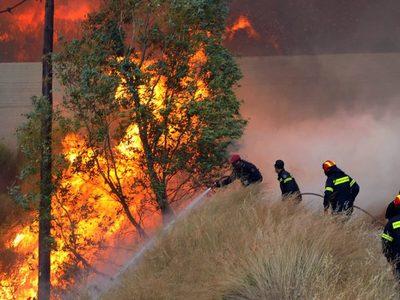 Yψηλός ο κίνδυνος πυρκαγιάς το Σάββατο σε Αχαΐα και Ηλεία