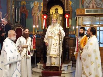 Πανηγύρισε ο ιερός ναός Αγίου Διονυσίου στην Πάτρα
