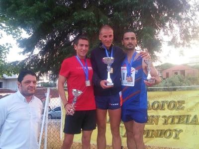 Δεύτερος στον 25ο γύρο Νεάπολης Αγρινίου ο Χρήστος Κουτρούμπας