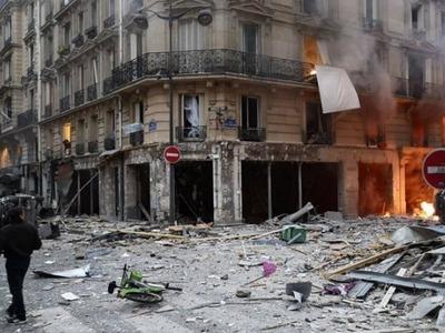 Πολλοί τραυματίες από την ισχυρή έκρηξη στο Παρίσι