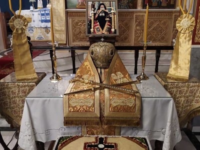 Μνημόσυνο του Αρχιεπισκόπου Χριστοδούλου...