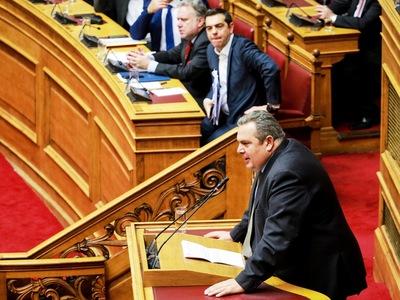 Π. Καμμένος σε Τσίπρα: Διαπράξατε ένα έγκλημα κ. πρωθυπουργέ. Με εκτελέσατε