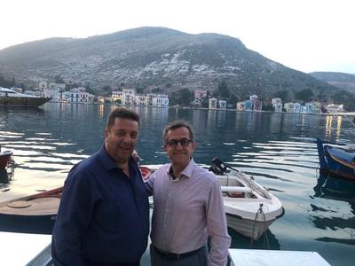 Ο Νικ. Νικολόπουλος πήγε στο Καστελόριζο