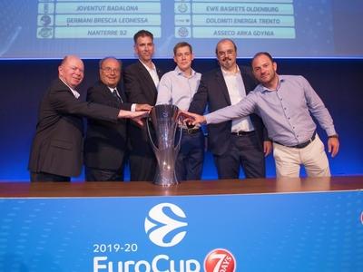 Οι αντίπαλοι του Προμηθέα στο EuroCup - Κληρώθηκε στον 1ο όμιλο